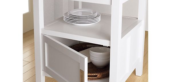 Kitchen Storage and Prep Space Solutions… Quick Fix