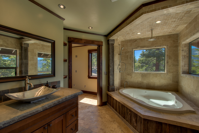 Roman Tub Tahoe Style | Much Ado About Kitchens