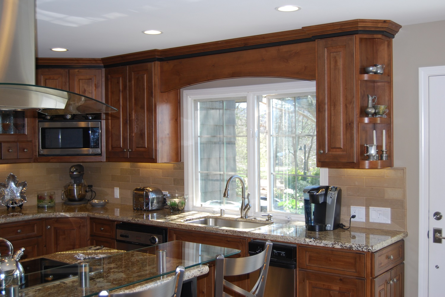Kitchen remodels custom cabinetry much ado about kitchens for Kitchen counter cabinet