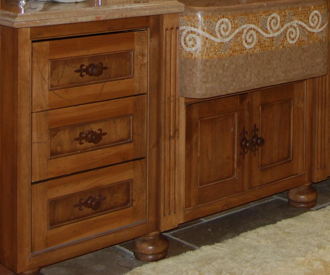 Local custom vanity cabinets