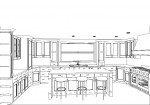 CAD, CAD drawing, CAD design, CAD kitchen design, kitchen design