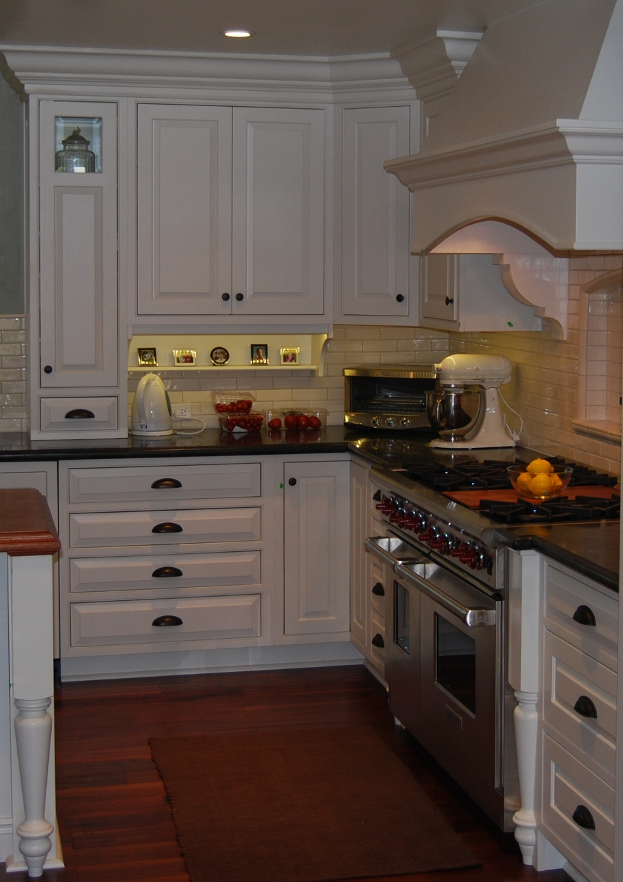 Medallion Cabinetry inset door style with custom features