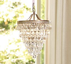 potterybarn chandelier
