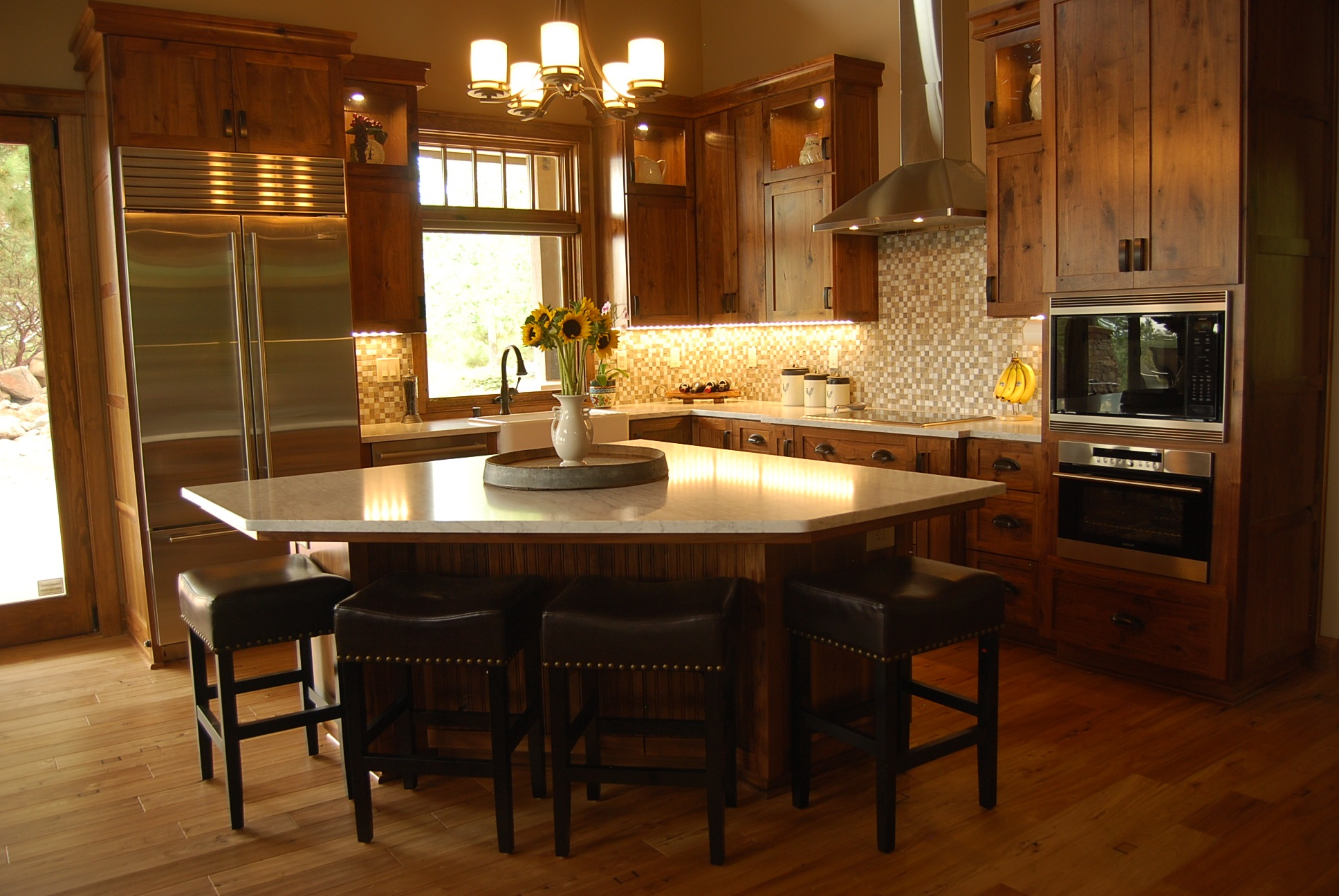 Modern Craftsman Style Kitchen Much Ado About Kitchens