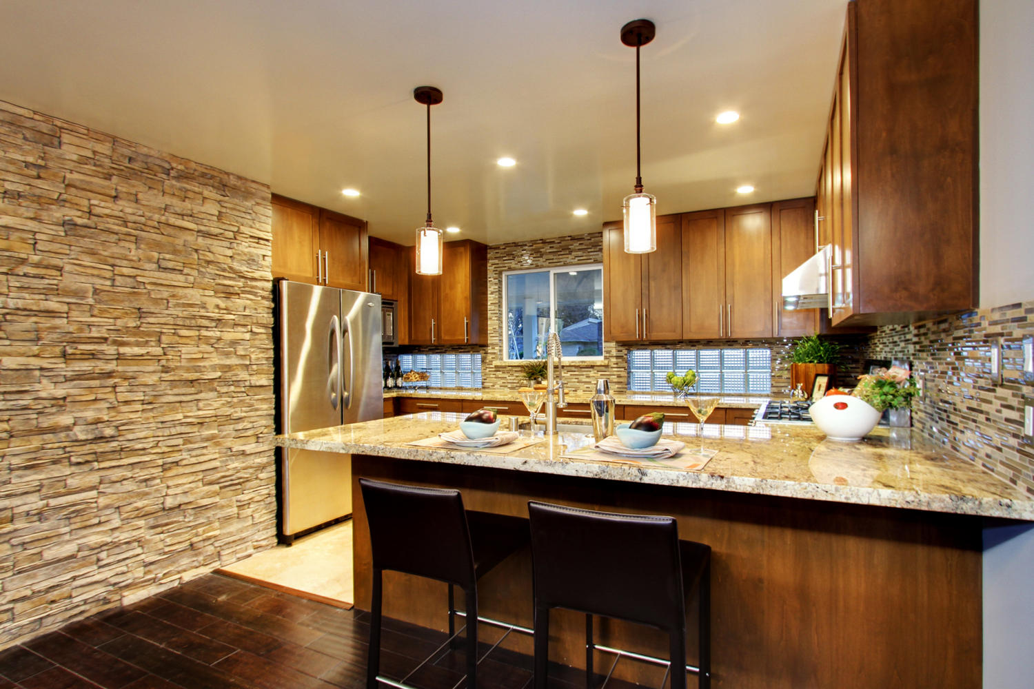 Decorative Kitchen Cabinetry